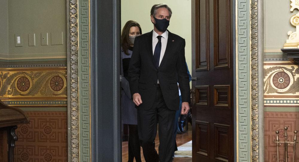 آنتونی بلینکن وزیر امور خارجه ایالات متحده آمریکا