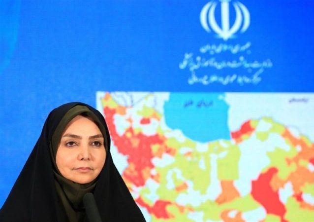 سیما لاری سخنگوی وزارت بهداشت ایران