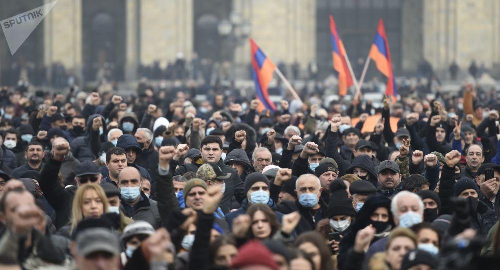 انتشار نتایج نظر سنجی مربوط به انتخابات پارلمانی در ارمنستان