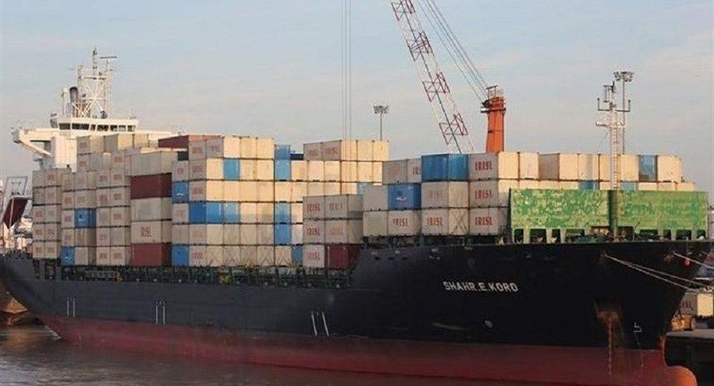 ورود سه فروند کشتی اقیانوس پیمای حامل کالاهای اساسی به ایران