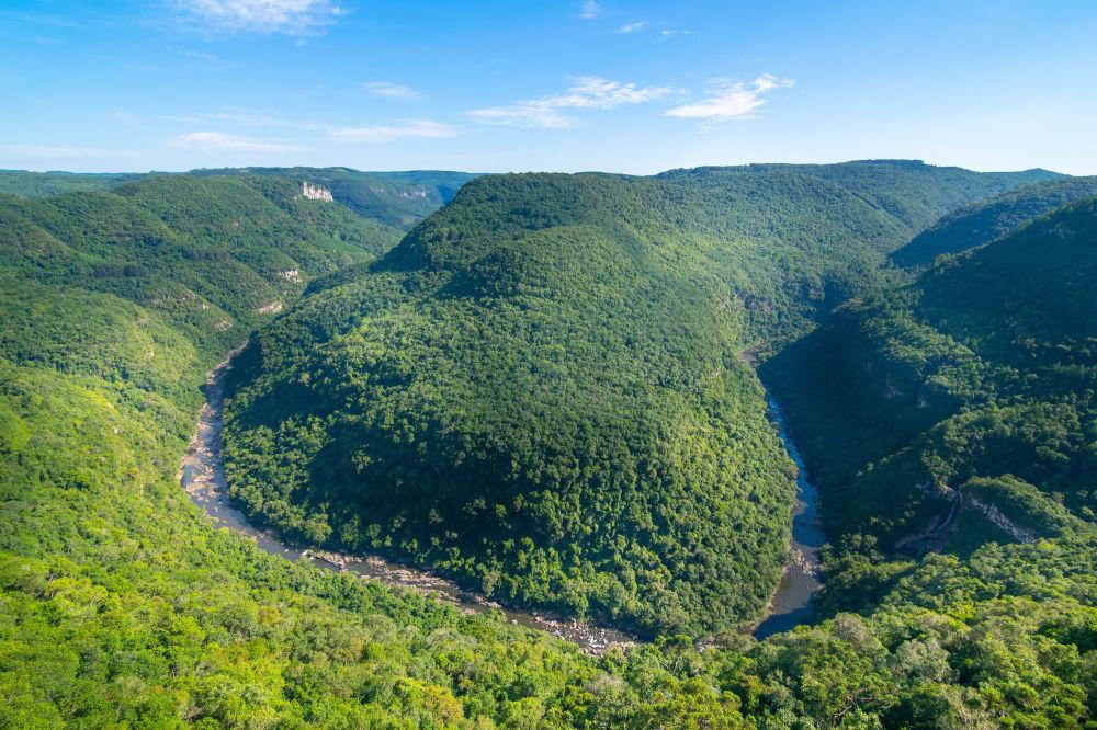 نوای طبیعت سبز درمان استرس کرونایی دره نعل اسب برزیل