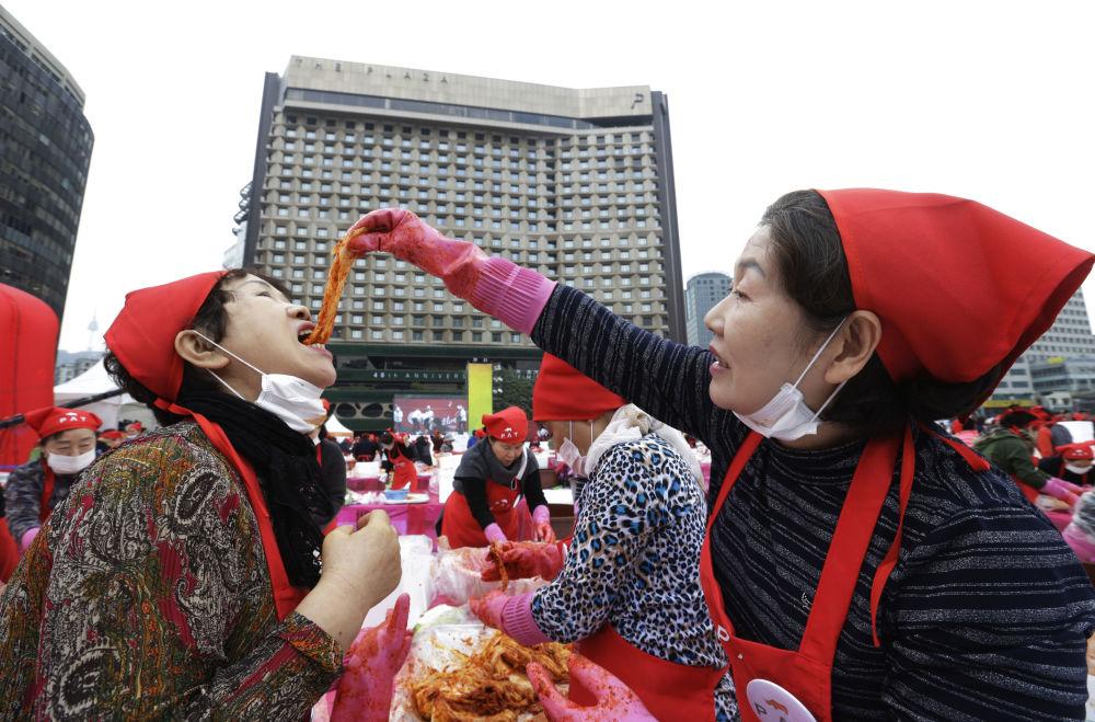 جشنواره کیمچی در سئول، کره جنوبی