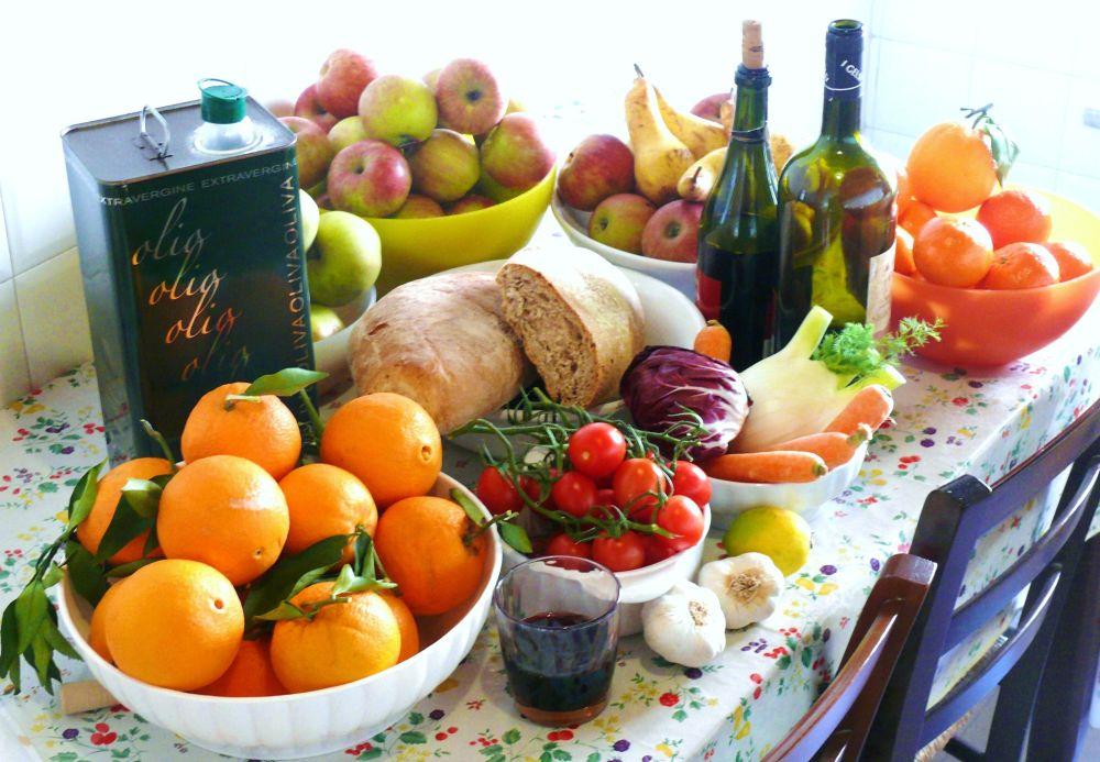 رژیم غذایی سنتی مدیترانه ای