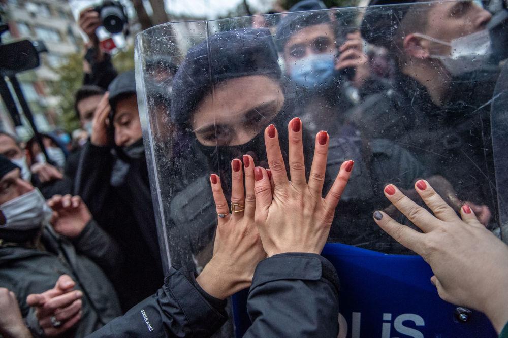 حوادث و رویدادهای جهان تظاهرات در ترکیه