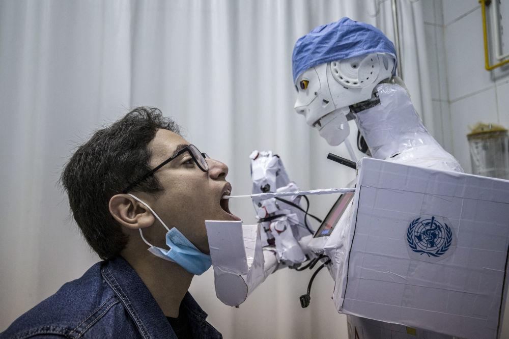 حوادث و رویدادهای جهان پرستار رباتی مصر