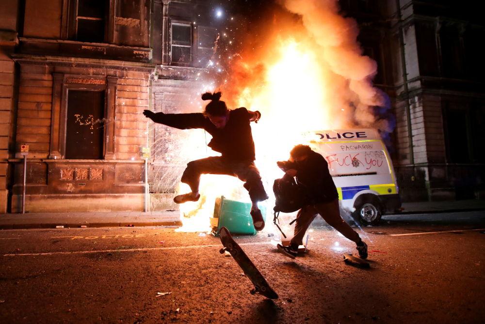 حوادث و رویدادهای جهان تظاهرات در بریتانیا