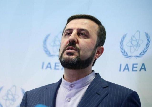 کاظم غریب آبادی ، نماینده دائم ایران در سازمان بین المللی انرژی اتمی