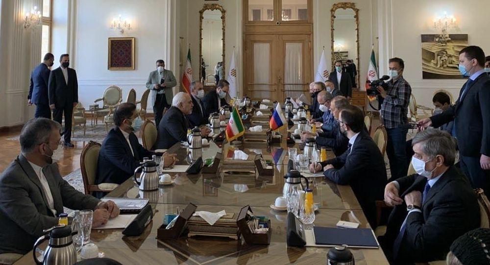 نشست لاوروف و ظریف در تهران
