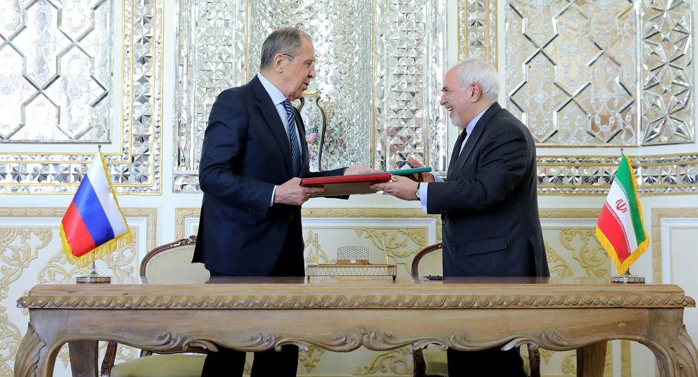 لاوروف و ظریف، همکاریهای استراتژیک میان ایران و روسیه