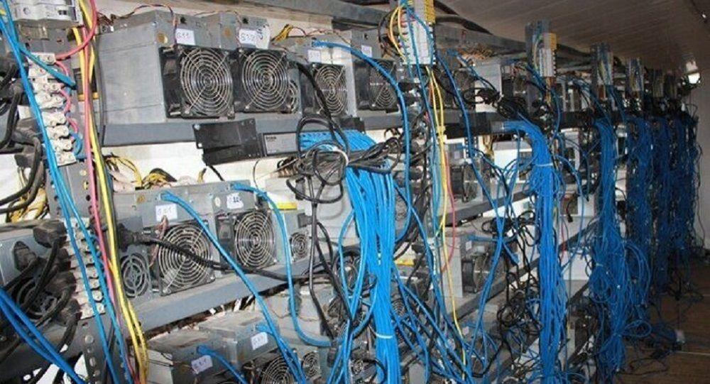 کارخانه استخراج رمز ارز