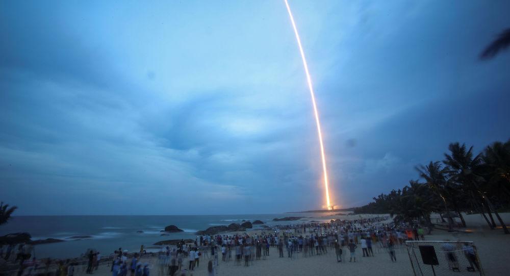 آخرین عکس موشک در حال سقوط چینی