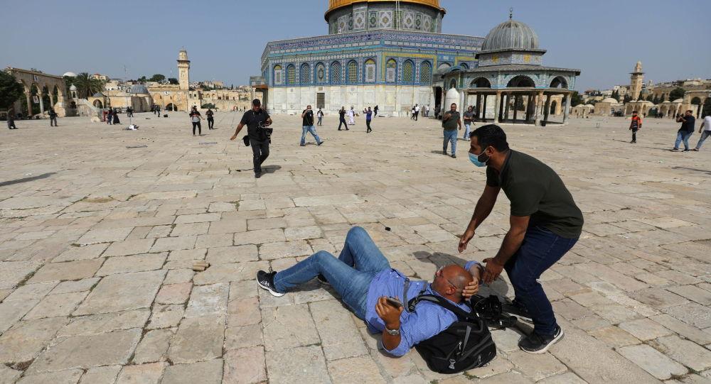 واکنش توییتری ظریف به حادثه مسجد الاقصی