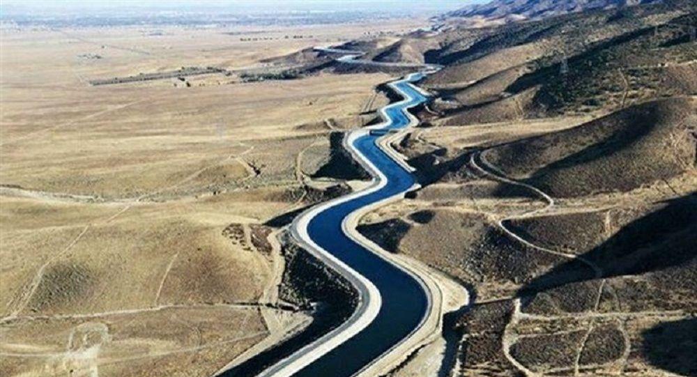 آب انتقالی امروز به شهر یزد ایران میرسد