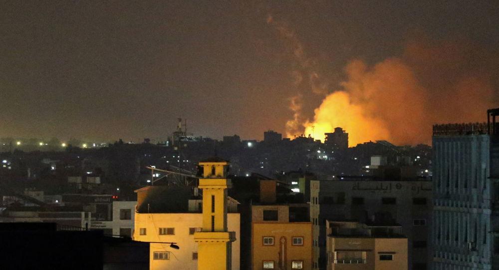 اسرائیل به تاسیسات حماس در نوار غزه حمله کرد