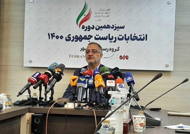 دکتر علیرضا زاکانی کاندید انتخابات ریاست جمهوری اسلامی ایران
