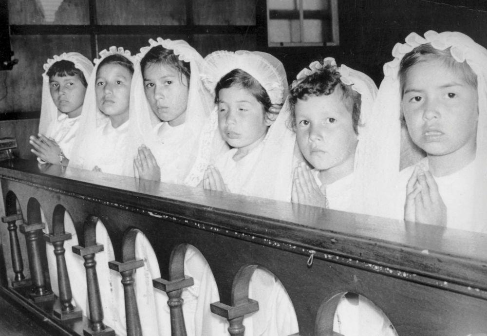 مدارس کانادایی برای ساکنان بومی سال 1955 میلادی