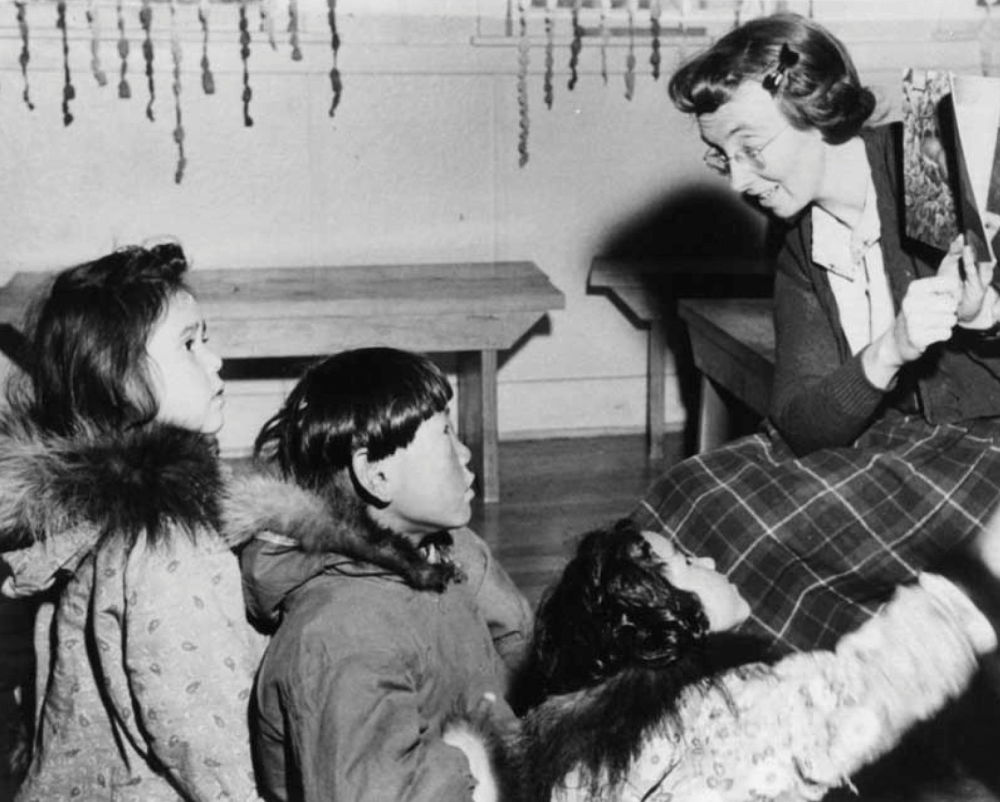 مدارس کانادایی برای ساکنان بومی سال 1950 میلادی