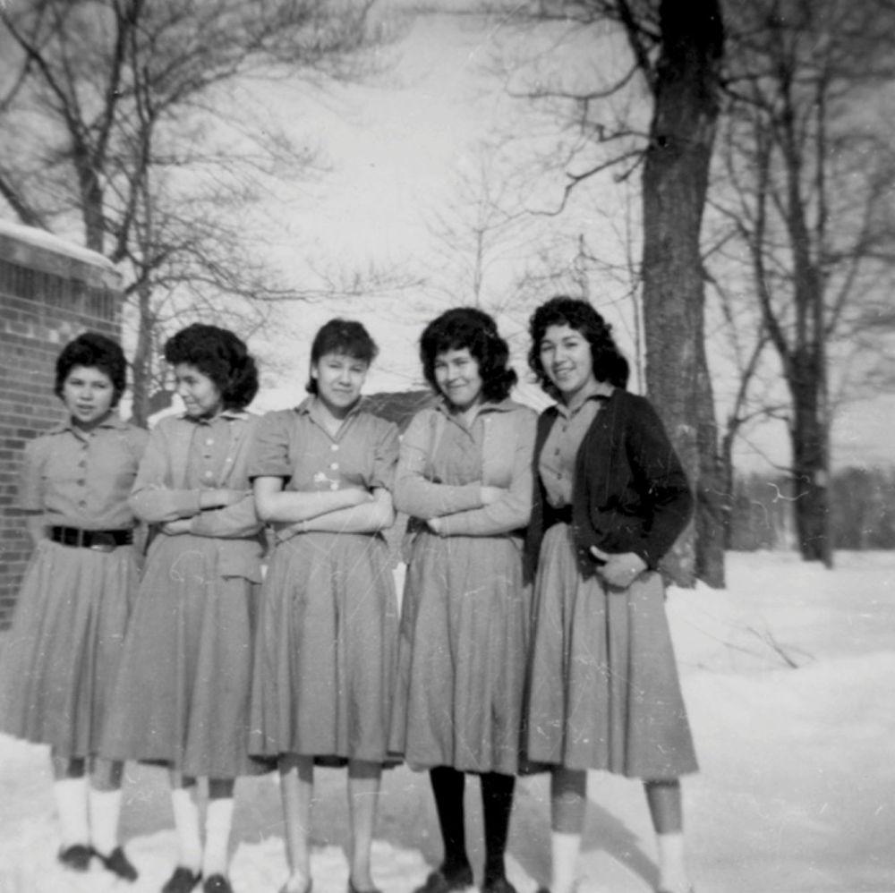 مدارس کانادایی برای ساکنان بومی سال 1960 میلادی