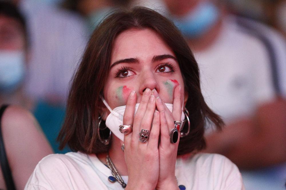 هواداران جام ملت های اروپا 2020 میلادی بازی ایتالیا - ترکیه