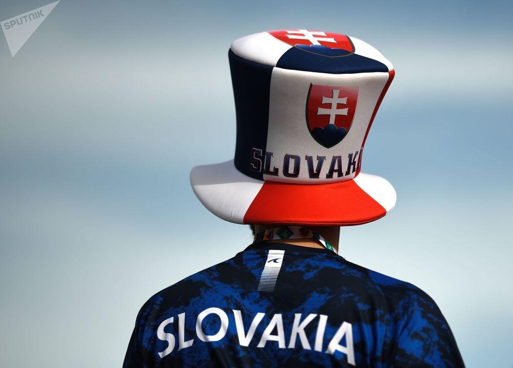 هواداران جام ملت های اروپا 2020 میلادی بازی لهستان - اسلوواکی