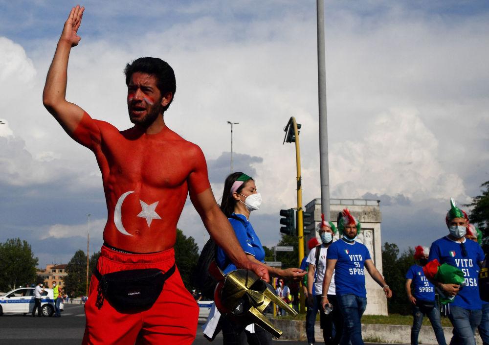 هواداران جام ملت های اروپا 2020 میلادی روم