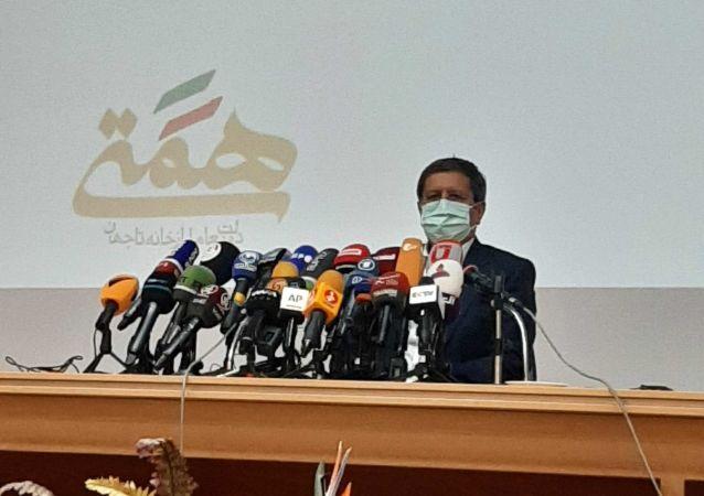 نشست خبری عبدالناصر همتی نامزد سیزدهمین دوره انتخابات ریاست جمهوری ایران