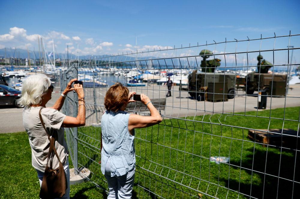 ویلای لاگرانژ در ژنو محل دیدار پوتین و بایدن