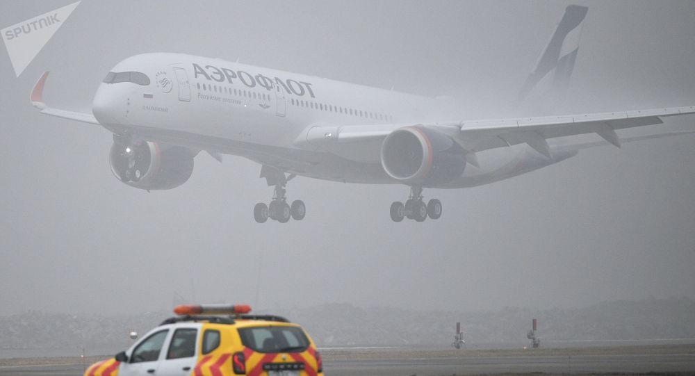 تاخیر در فرود هواپیمای هیئت روسی به خاطر بایدن