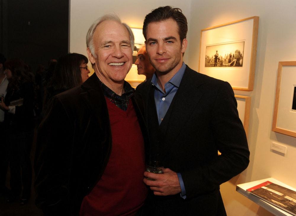 هنرپیشه رابرت پاین و پدرش