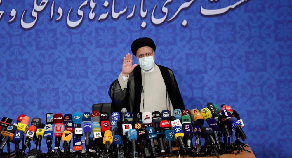 نشست خبری ابراهیم رئیسی، رئیس جمهوری ایران