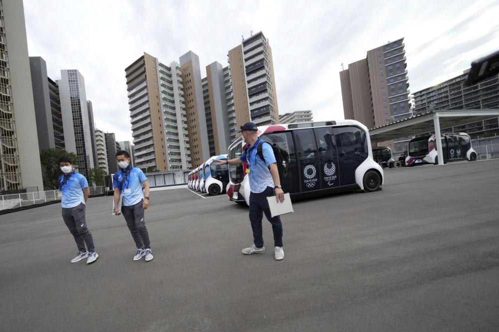دهکده المپیک توکیو