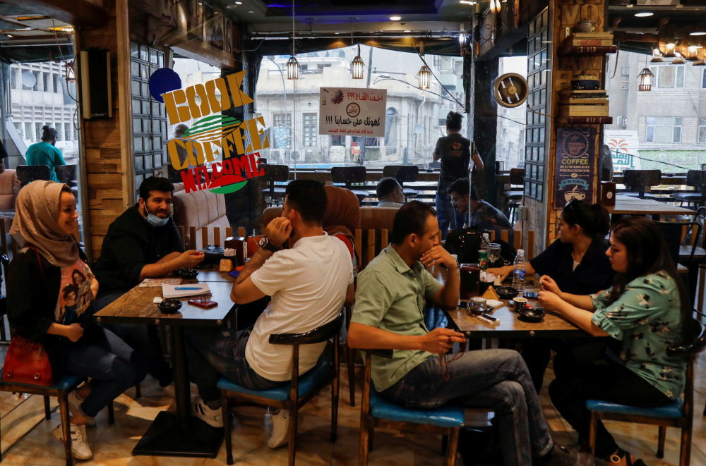 جوایز واکسن زدن در کشورهای جهان اهدای قهوه رایگان در بغداد