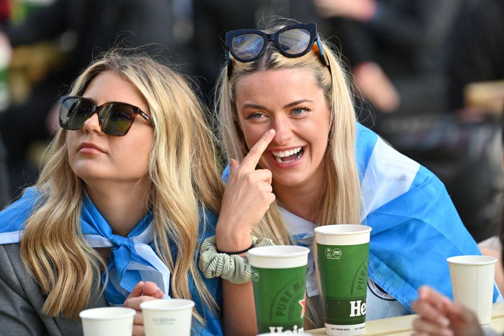 طرفداران تیم فوتبال اسکاتلند در مسابقات یورو ۲۰۲۰