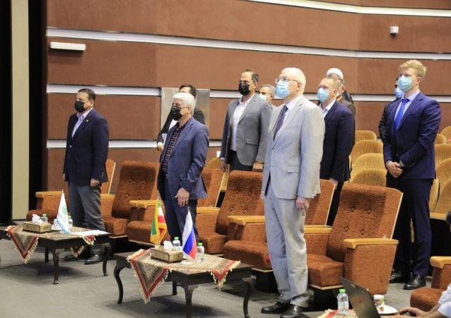 افتتاح بنیاد روسکی میر روسیه در دانشگاه اصفهان + ویدئو