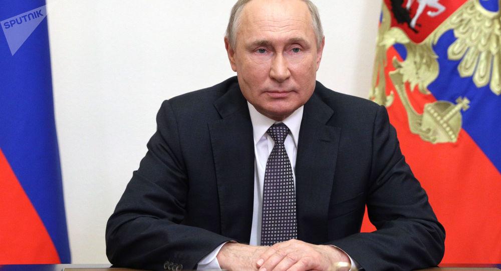 جلسه پوتین با روسای سرویس های اطلاعاتی کشورهای CIS