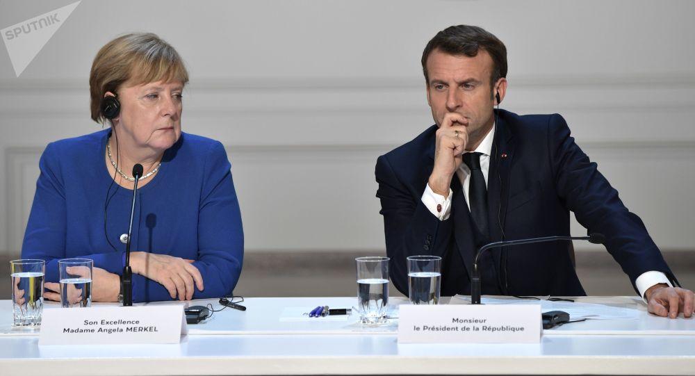 پیشنهاد مرکل و مکرون برای دعوت از پوتین به اجلاس اتحادیه اروپا