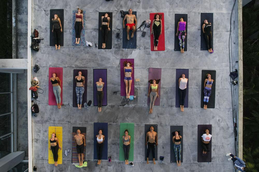 رویدادهای هفته به روایت تصویر  یوگا در ونزوئلا