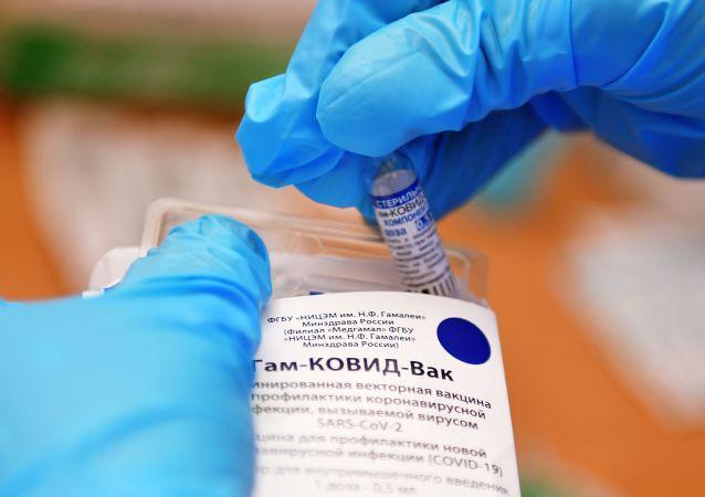 ثبت واکسن اسپوتنیک وی در یک کشور دیگر