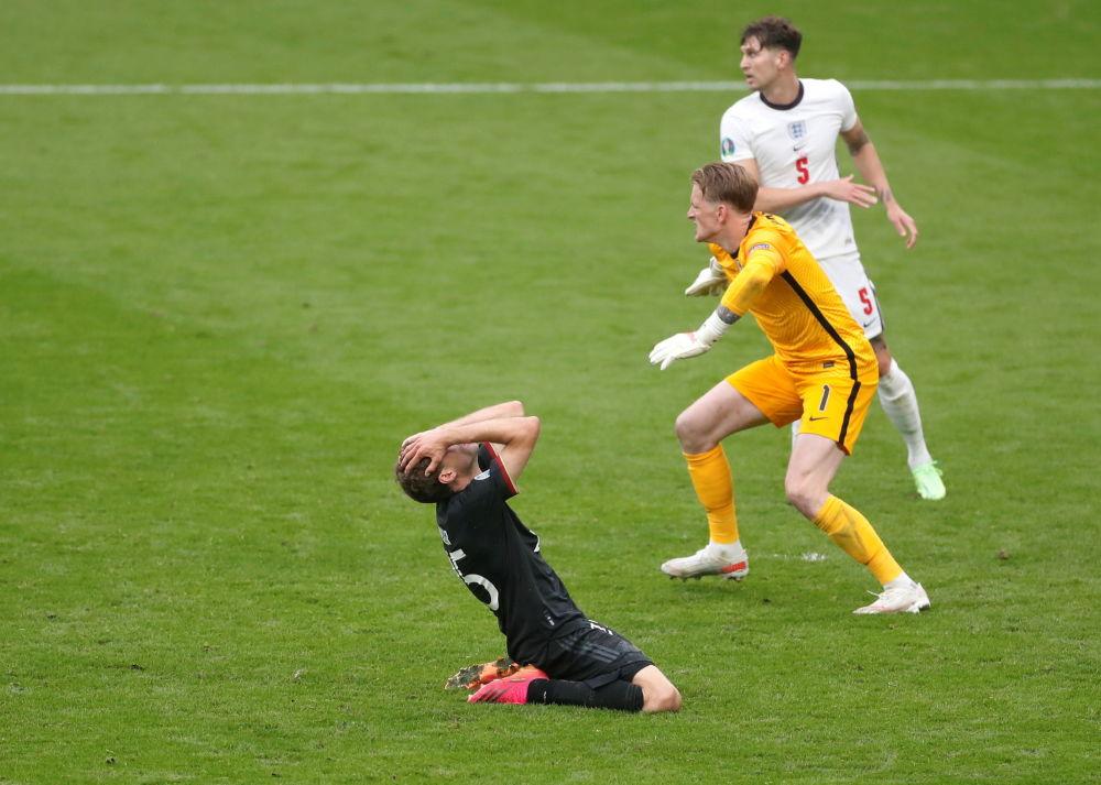 بازیکنان تیم آلمان و انگلیس در یک هشتم فینال یورو ۲۰۲۰