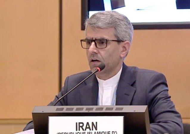 «اسماعیل بقایی هامانه» سفیر و نماینده دائم ایران نزد سازمان ملل متحد در ژنو
