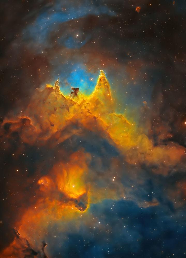 جان و روان کهکشان عکاس، کوش چانداریا از بریتانیا