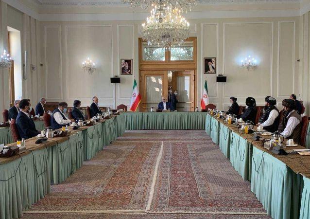 اجلاس گفتگوهای بین الافغانی در تهران