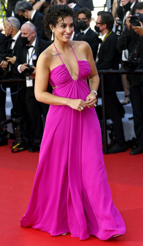 هنرپیشه کاملیا ژردانا مراسم افتتاحیه ۷۴مین فستیوال فیلم کن