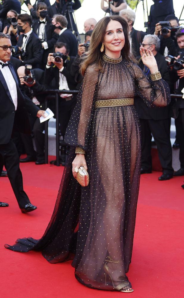 هنرپیشه الیزا زیلبرشتین مراسم افتتاحیه ۷۴مین فستیوال فیلم کن