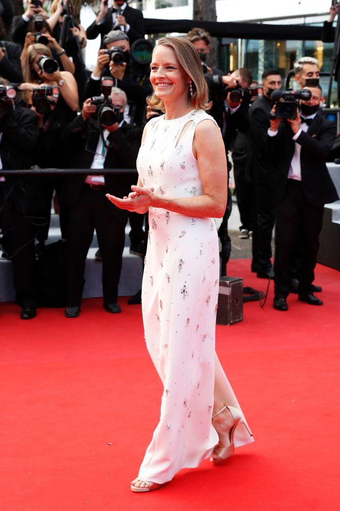 هنرپیشه جودی فوستر مراسم افتتاحیه ۷۴مین فستیوال فیلم کن