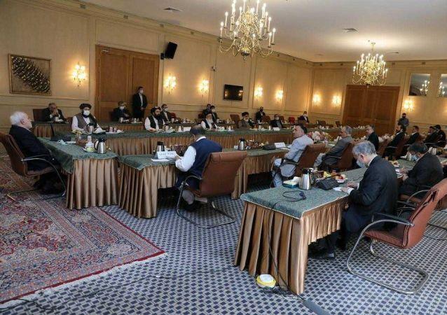 پایان نخستین دور گفتگوهای بین الافغانی در تهران