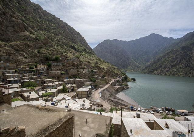 روستای اورامان در استان کردستان در ایران