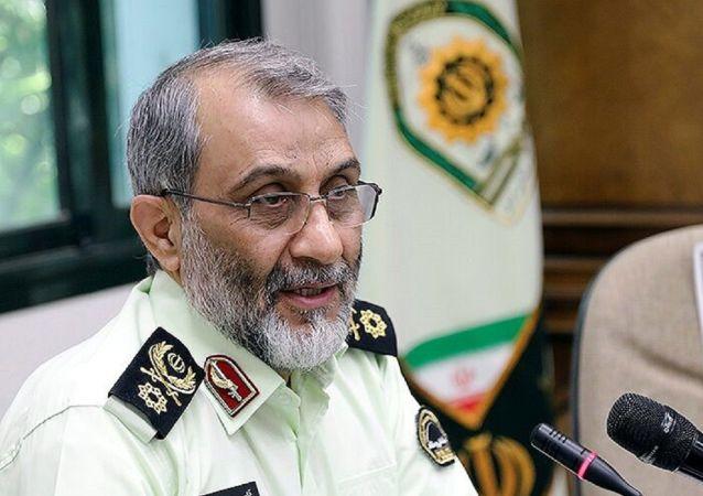 جانشین فرمانده ناجا: دستی که قمه بلند میکند باید قطع شود