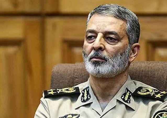 امیر سرلشکر سید عبدالرحیم موسوی، فرمانده کل ارتش جمهوری اسلامی ایران
