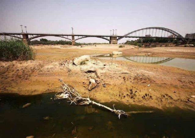 مشکل آب در استان خوزستان